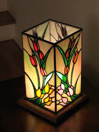 stained glass lamp shades only mission style lampshade patterns india