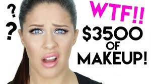 3500 face of makeup crazy expensive makeup tutorial
