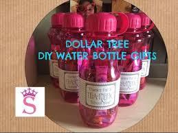 dollar tree diy water bottle gifts cute