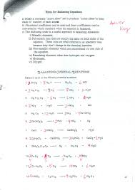 balancing equations practice worksheet answer key with phet balancing chemical equations worksheet image collections