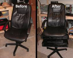 office hack. Introduction: Hack An Office Chair Into A \ O