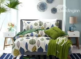 leaves duvet cover colorful leaves print style cotton 4 piece bedding sets duvet cover falling leaves leaves duvet cover bamboo leaves comforter