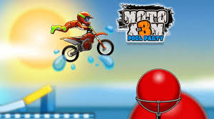 Moto X3M Pool Party HTML 5 Games