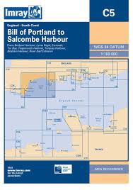 Salcombe Harbour Chart Imray Chart C5 Bill Of Portland To Salcombe Harbour
