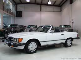 One of the longest production runs in mercedes the 560 series is the culmination of all production refinements and were produced from 1986 to 1989. 1987 Mercedes Benz 560sl Roadster Daniel Schmitt Co Classic Car Gallery