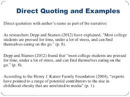 Apa Quote Citation Magnificent Apa Direct Quote Apa In Text Citations Friendsforphelps