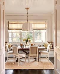 floor seating dining table. Dining Room Bench Seating Transitional With Built In Bookshelves Wood Floor Area Table