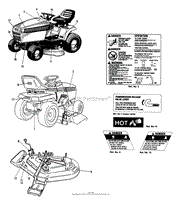 simplicity 1692110 1616h 16hp hydro parts diagrams decal group agco allis models