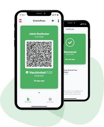 GreenPass App - Dein digitaler grüner Pass