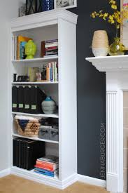 #DIY #Tutorial How-To Make a Laminate Bookcase Look Like a Custom Built