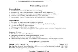 Resume With No Job Experience Administrative Clerk Resume