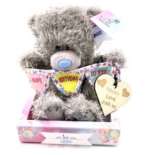 me to you personalised me to you tatty teddy 50th birthday gift set boxed new ap701030 p