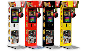 Video Game Vending Machines Fascinating Multiplayer Boxer Arcade Game KrissSport