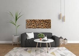 rustic wall decor pine wood wall art