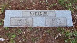 John Wesley McDaniel (1887-1940) - Find A Grave Memorial