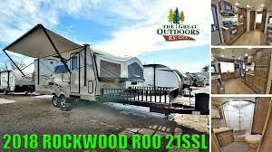 new 2018 hybrid toy hauler rockwood roo 21ssl cer colorado rv dealer