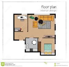How To Plan Interior Design Vector Interior Design Floor Plan Home House Top View