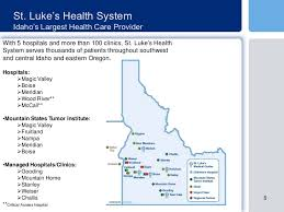 St Luke S My Chart Boise St Lukes Health System Boise Idaho