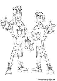 Small Picture Wild Kratts Brother Coloring Pages Coloring Pages Printable