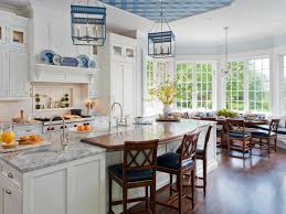 White Kitchen With Granite Backsplash Ideas For Granite Countertops Hgtv Pictures Hgtv