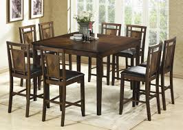 tall dining room sets. Diamond Inlay Counter Height Dining Set Tall Room Sets