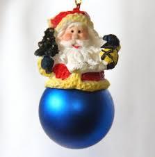 Christbaumschmuck Weihnachtsmann Auf Weihnachtskugel Anhänger Baumschmuck