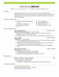 ChronoFunctional Resume Combination Resume Template Best Of Chrono Functional Resume 18