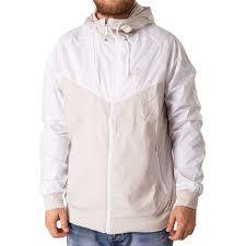 Nike Mens Sportswear Windrunner Jacket Light Bone Whitenew