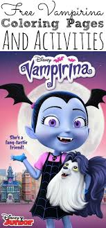 Our collection of coloring pictures of vampirina will surely appeal to all of you. Free Vampirina Coloring Pages And Activity Sheets To Download And Print