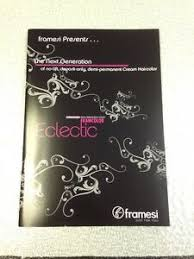 Details About Framesi Framcolor Eclectic Hair Color Technical Manual Color Technology Booklet