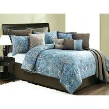 brown and gray comforter set teal bedding sets colorful queen solid grey