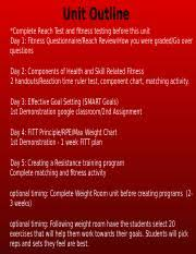 Fitnessgram Healthy Fitness Zone Chart 2018 Hs Personal Fitness Plan Docx Personal Fitness Plan
