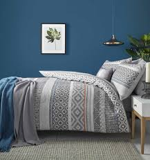 cover charcoal multi bedding set 14 89