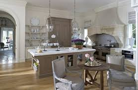 Rustic Open Kitchen Design Using Modern True Equipment And Large