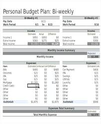 Excel Biweekly Budget Template Bi Weekly Budget Calendar Template Excel Ericremboldt Com