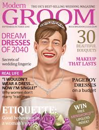 Modern Groom When Women Became The Dominant Sex Wedding