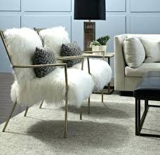 Mesmerizing Fur Chair Throw Faux Copycat Gold For At The Preppy  Leopard Slipcover Fur Chair Throw F60