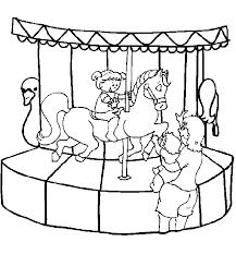 Pretpark Kinder Kleurplaten