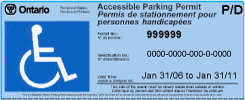 Image result for pictures of disabled parking passes