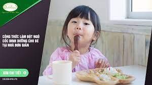 Công thức làm bột ngũ cốc dinh dưỡng cho bé tại nhà đơn giản – Deli Beans –  Bột ngũ cốc tăng cân, giảm cân, dinh dưỡng, gym