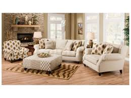 Hazel Simply Linen 4 Pc Sofa Set Sofa Chair Accent Chair And