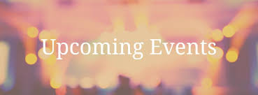 Image result for upcoming events