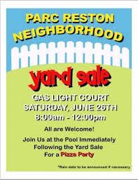 Neighborhood Garage Sale Flyer Templates Community Garage Sale Flyer