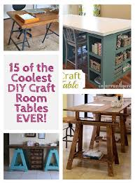 craft room ideas bedford collection. 15 Of The Coolest DIY Craft Room Tables Ever Ideas Bedford Collection M