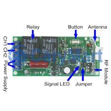 2 Channels AC110V 220V Wireless Remote Switch Transmitter