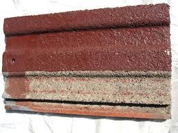 roof tiles painting testing of the product dulux tile paint colour chart9