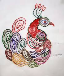 Design With Broken Bangles Broken Bangles Art Coloring Pages Diy Art Art