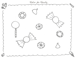 Small Picture Gingerbread House Candy Coloring Pages Coloring Pages
