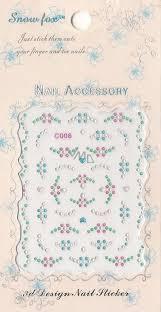 Nail Accessory 3d Nálepky Na Nehty 10100 C006 1 Aršík