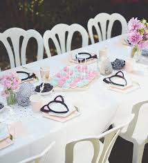 party planning a kitty cat kids birthday party